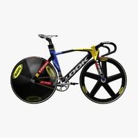 3d model look 596 racing bike