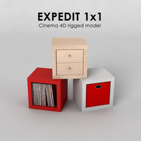 expedit 1x1 3ds free