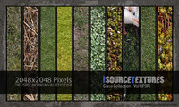 Grass Collection - Vol1 (PBR Textures)
