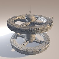 c4d space station