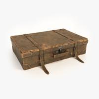 3d model old briefcase