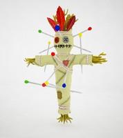 voodoo doll 3d max