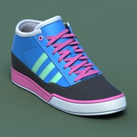 Sports shoes #03 blue pink