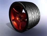 rim tyre 3d model