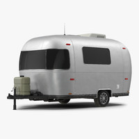 retro air stream recreational 3d model