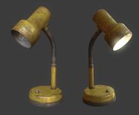 3d max old lamp