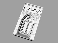 3d columns arches ancient