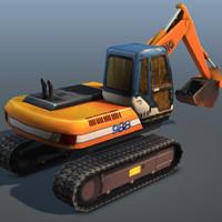 digger - 3d model