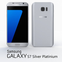 samsung galaxy s7 silver 3d max
