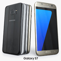 3d samsung galaxy s7 model
