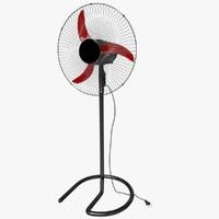 floor stand fan fbx