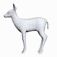 3d 3ds fawn