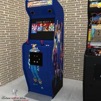 classical arcade 3d model