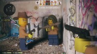3d lego man terrorist