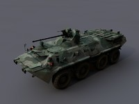 3d btr 80 btr-80 model