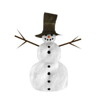 snowman snow man 3ds