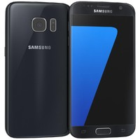 3d model samsung galaxy s7 black