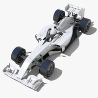 max generic f1 race car