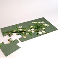 3d model jigsaw puzzle