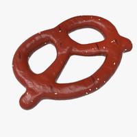 3d pretzel - model