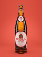 3d c4d sternburg beer bottle