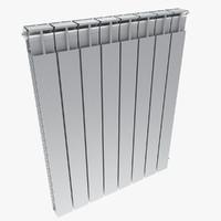 3d 3ds aluminium radiator
