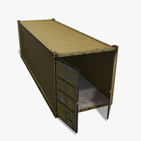 3d freight container