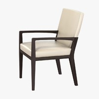 Holly Hunt LUNA DINING ARM CHAIR