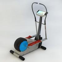 cardio machine 3d c4d