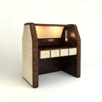 table luxury 3d model