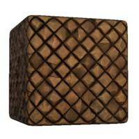 Ancient Brick Diagonal Wall