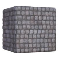 Ancient Square Broken Brick