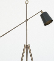 3d model cool floor lamp