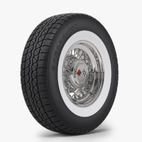 Classic Wire Wheel & Tire BFG