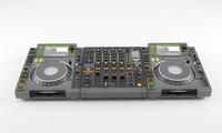 mixer mixing 3d model