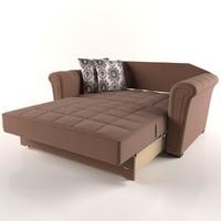 sofa bed 3d model
