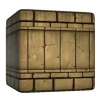 Mayan Brick Wall