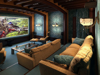 3d model picture interior