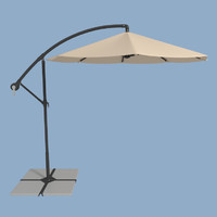 3ds patio umbrella