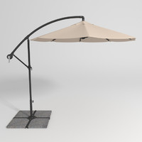 patio umbrella 3ds