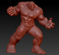 avengers hulk 3d model