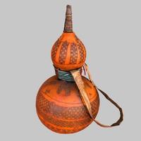 3d primitive calebas drink model