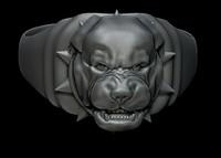 ring rottweiler 3d model