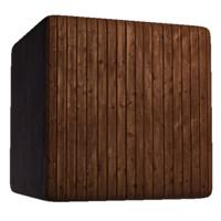 Paneled Wood Wall