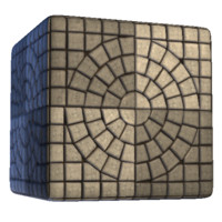 Paving Stone Square Pattern