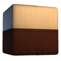 Wooden Paneled Wall