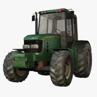 tractor games 3d model