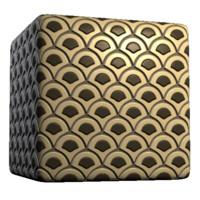 Wavy Wedge Tiles