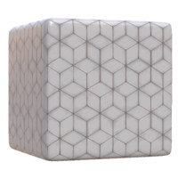 White Diamond Tile