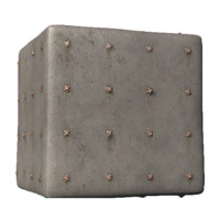 Bolted Concrete Wall